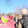 Hundreds Join Women's March in Champaign