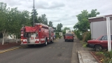 Eugene home damaged by fire
