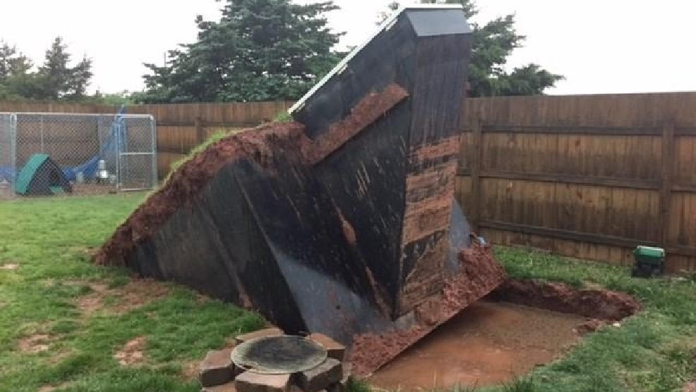 Noble Storm Shelter Pops Out Of Ground