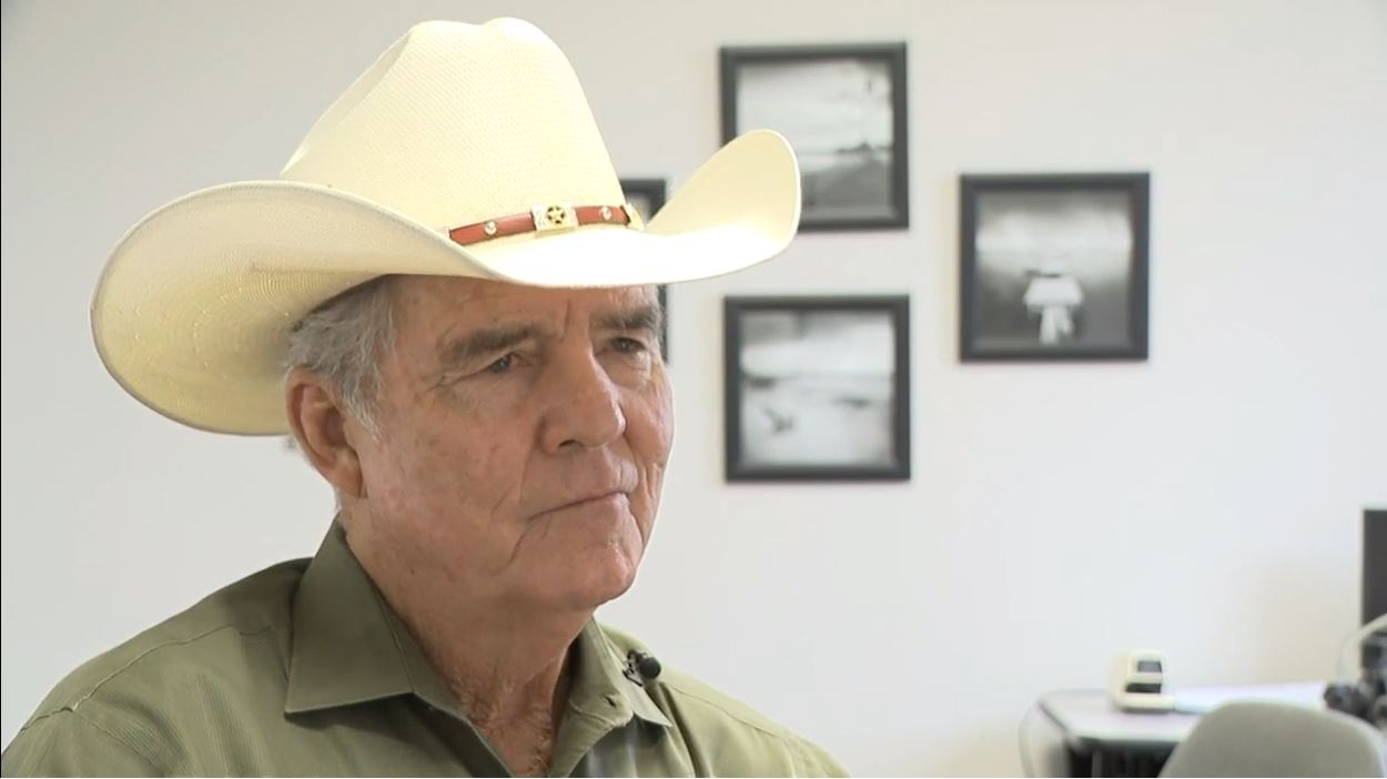 Newton County Sheriff Billy Rowles. He was sheriff in Jasper County when Byrd Jr. was killed. (KFDM)