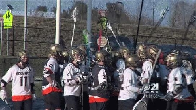 Bishop McDevitt lacrosse team supports Orange4Owen