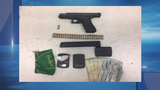 Traffic violation leads to handgun and drug arrest in Druid Hill
