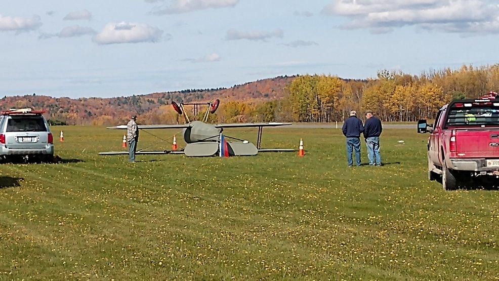 Plane crashes at Maine airport