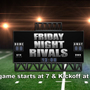 Friday Night Rivals 2017 Schedule