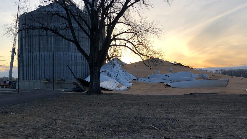 Grain bin collapses in La Grange | KHQA