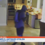 Brazen burglar caught on surveillance video, steals guns and jewelry