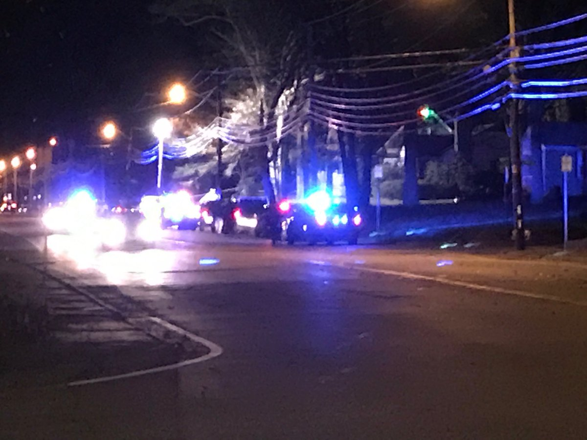 Attleboro and state police secured a crime scene in a South Avenue neighborhood, early Tuesday, Dec. 5, 2017. (WJAR)