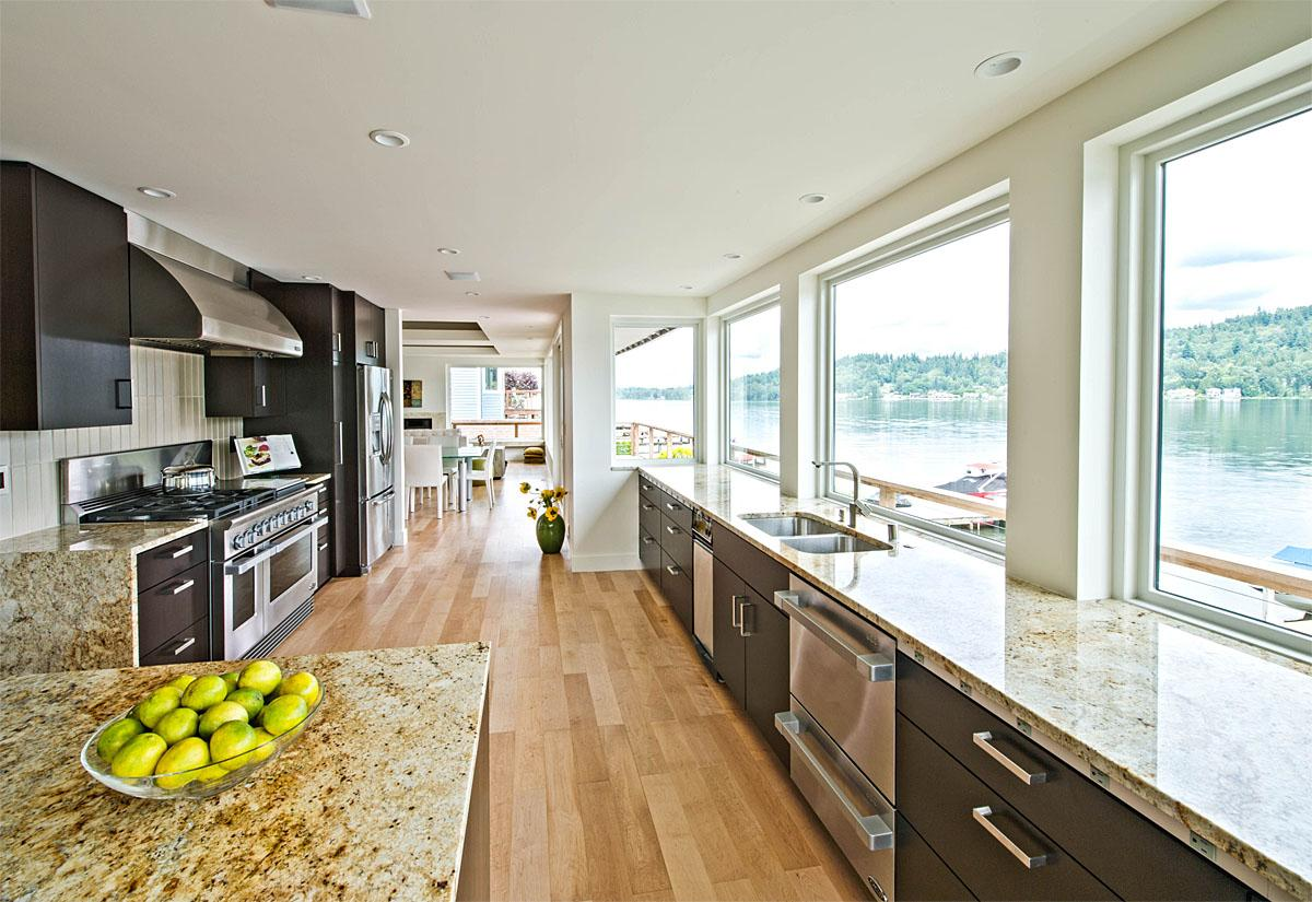 This Redmond Remodel was completed by SunBeach Design Build. The entire project (a full house remodel) cost $614,000.   (Image: Redmond Remodel / Porch.com)