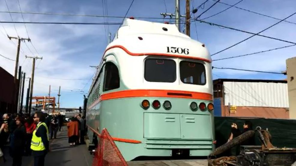 One of el paso s historic trolleys revealed in downtown kfox for S s motors el paso tx