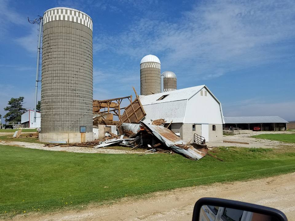 Photo courtesy Winneshiek County Emergency Management