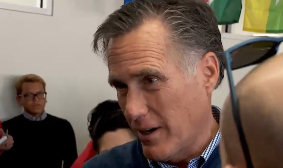 Romney hits campaign trail in Ogden, Orem (Photo: KUTV)