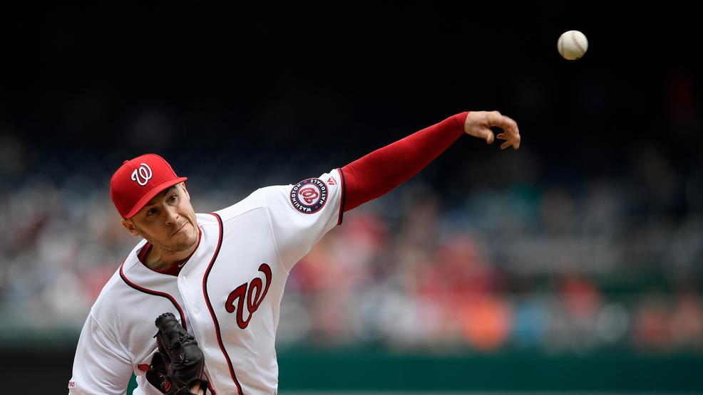 Nationals beat Giants as Patrick Corbin earns 1st win with team