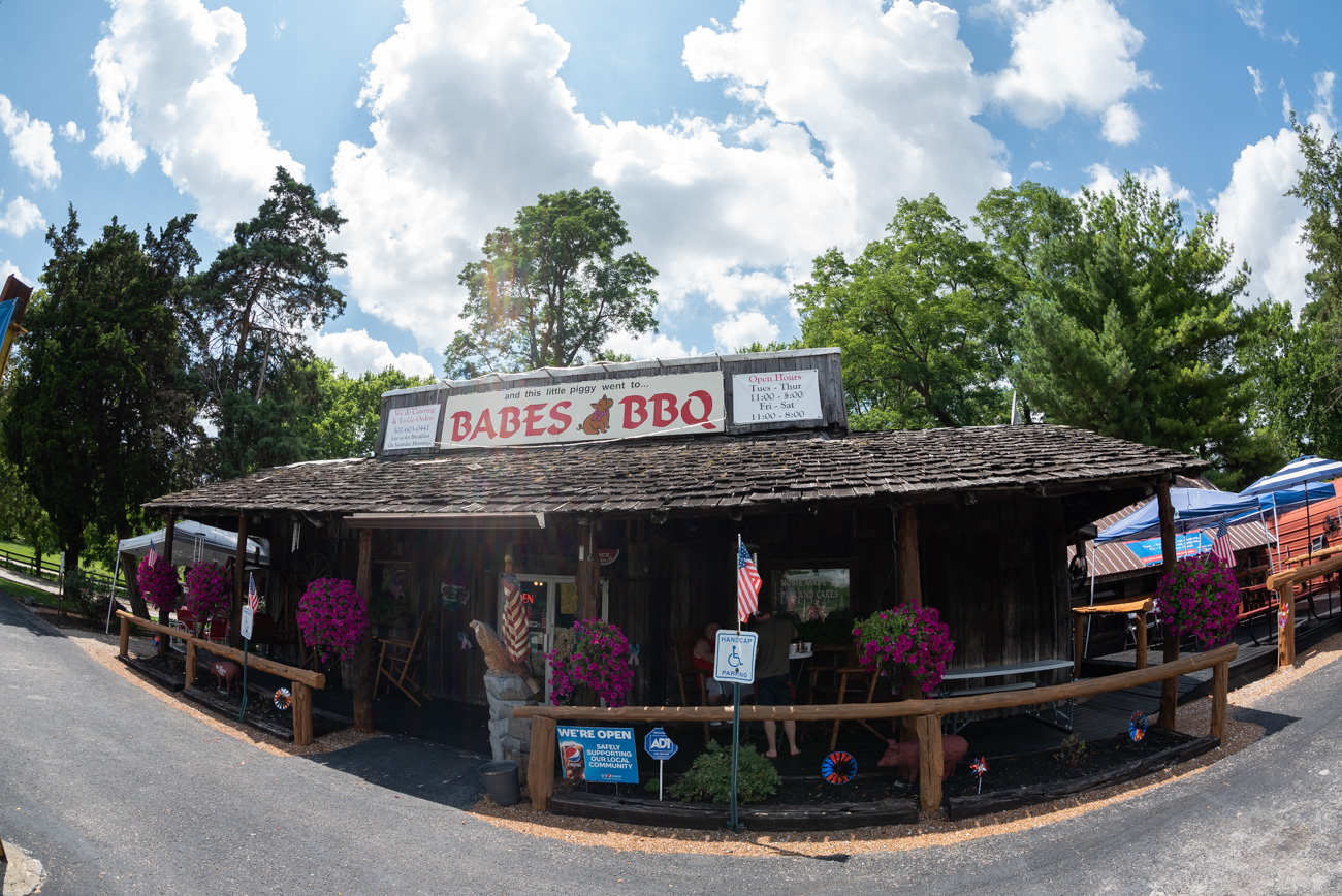 Babes BBQ located at 2176 Cincinnati Road (US 25) in Georgetown, KY / Image: Mike Menke // Published: 8.25.20