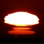 Video of sunset mirage + green flash + whales will 'blow' you away