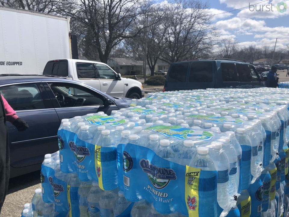 Flint remains frustrated and families are angry after learning the state will stop providing them with free bottled water. (Photo credit: Jasmyn Durham){ }