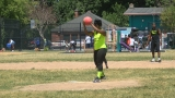 Sunday kickball game against violence attracts thousands