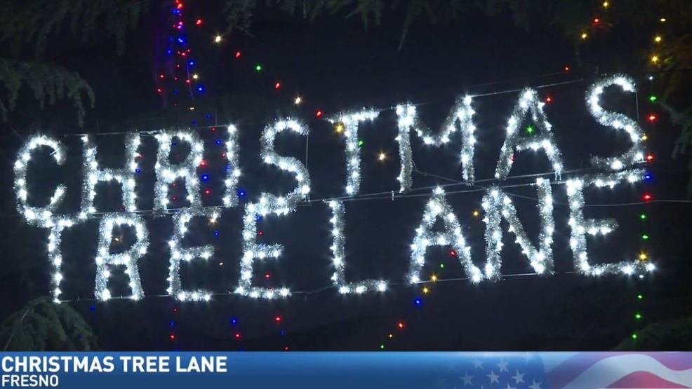 Christmas Tree Lane Fresno.Jim Visits Fresno S Christmas Tree Lane Kmph