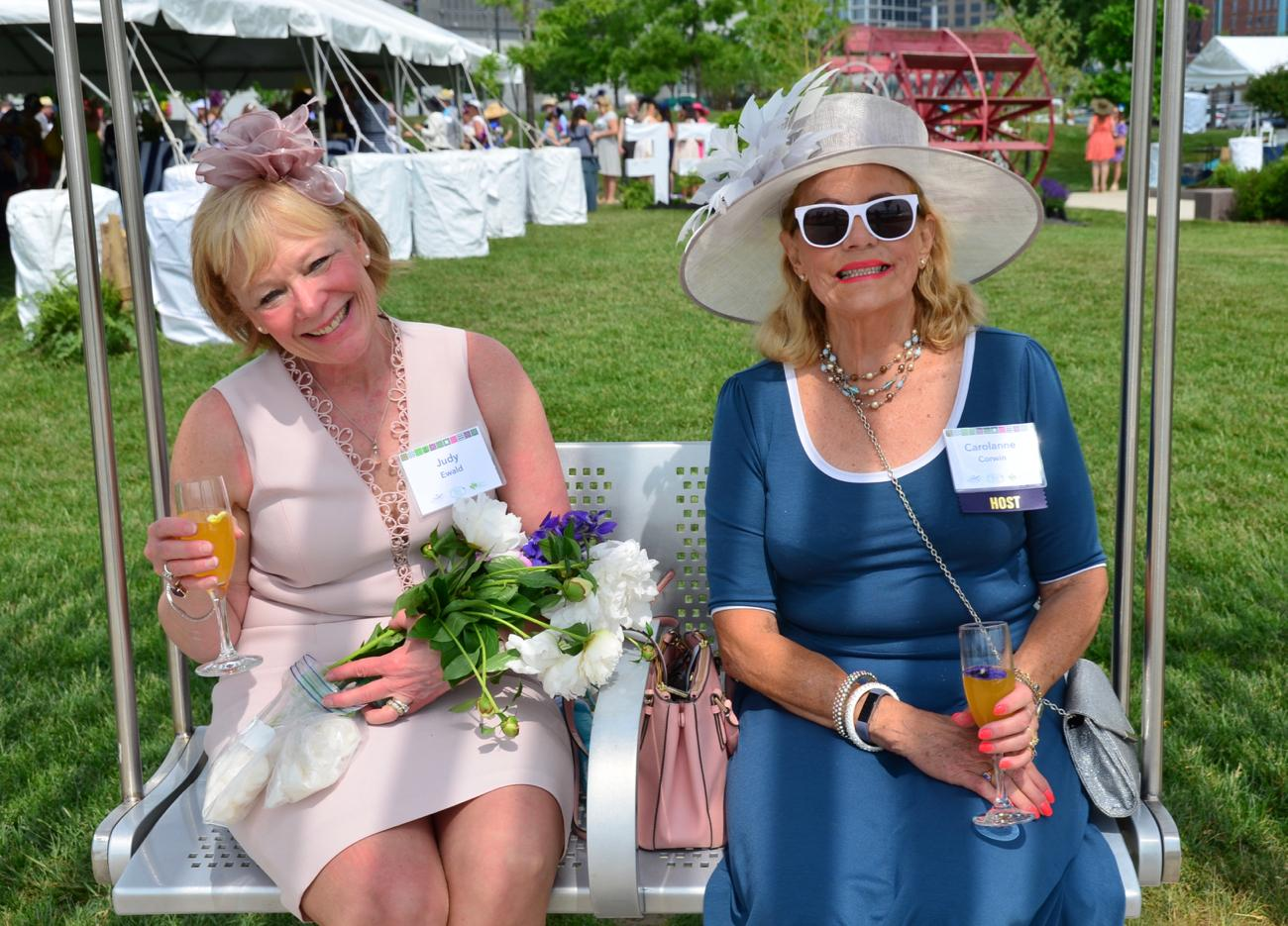Judy Ewald and Carolanne Corwin / Image: Leah Zipperstein, Cincinnati Refined // Published: 5.18.18