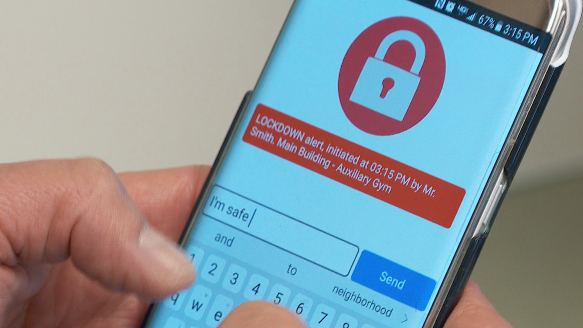 The SafeUT app, established in 2015, has seen record usage this year. (Photo: KUTV)<p></p>