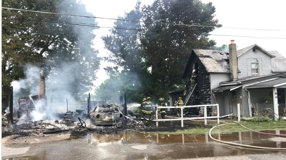 Crews respond to house fire in Smithfield   WTOV