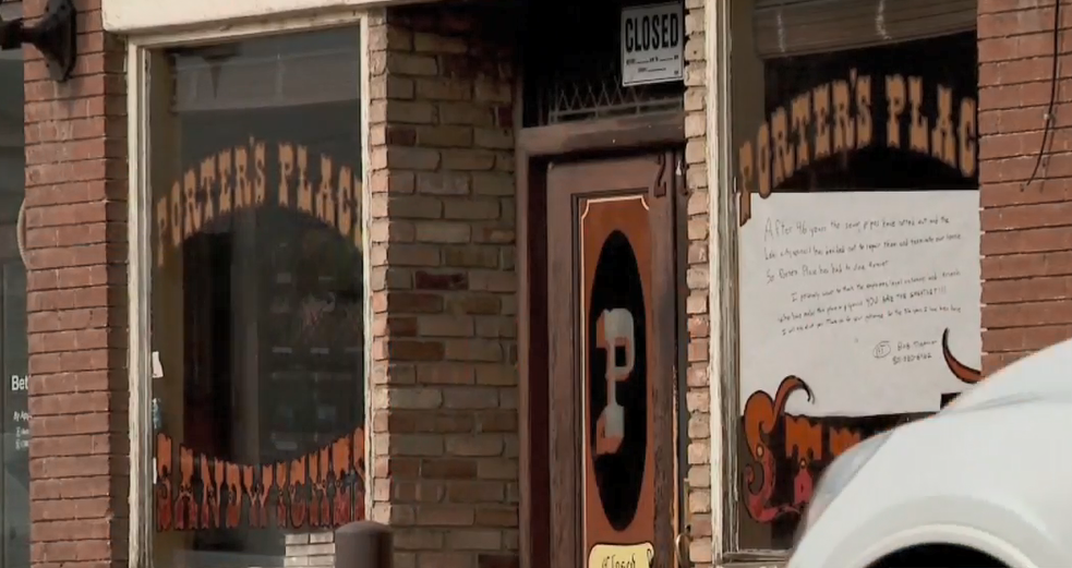 'Porter's Place' a Lehi staple for decades may be closing for good over pipe problem (Photo: KUTV)<p></p>