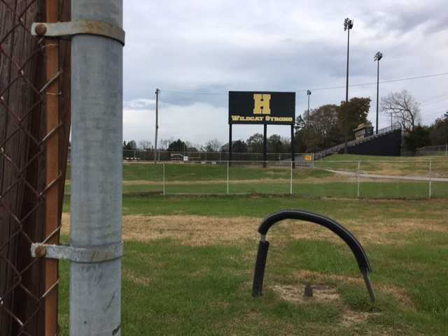 Hixson High students grateful over Hamilton Co. School's plan to fix track & tennis court (IMAGE: WTVC){ }