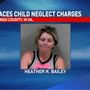 Deputies: Mingo County woman charged after leaving toddlers in hot car with soiled diapers