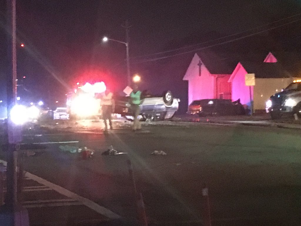 Bloomfield Dr. fatal wreck./Eric Mock (WGXA)<p></p>