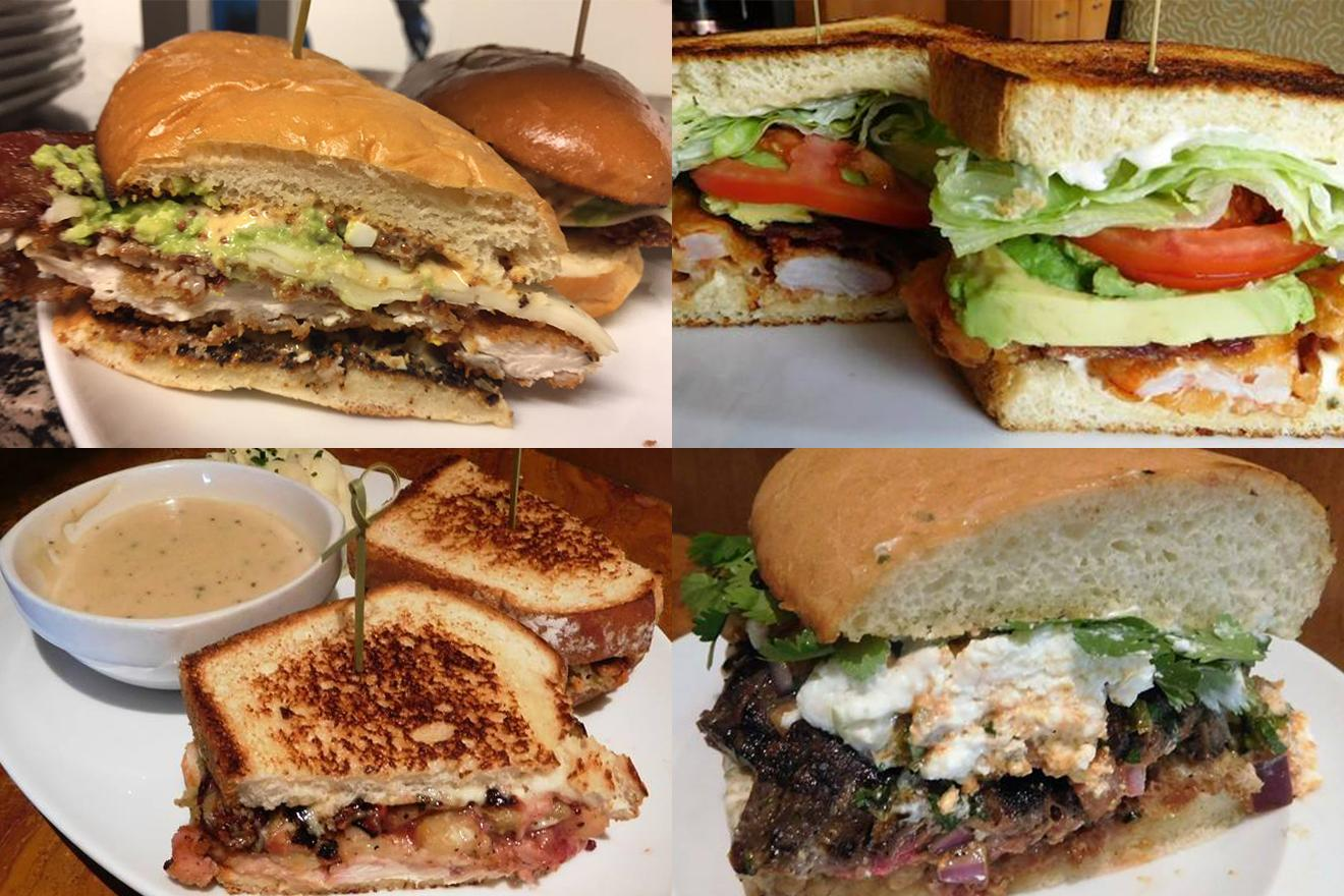 John Howie Steak, located in downtown Bellevue, brings major sandwich game. Every day the steakhouse features a unique and new sandwich called they call #SandwichOfTheDay. Enjoy the gallery! These are just a few of the daily sandwiches that look absolutely mind-blowing. To see the current Sandwich of the Day, check out John Howie Steak's Facebook page. (Image courtesy of John Howie Steak)