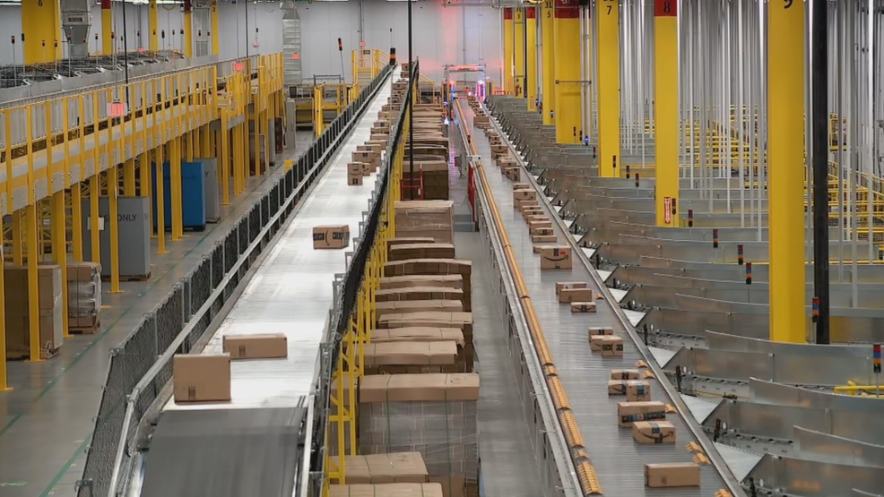 Amazon hosts grand opening of new robotics fulfillment