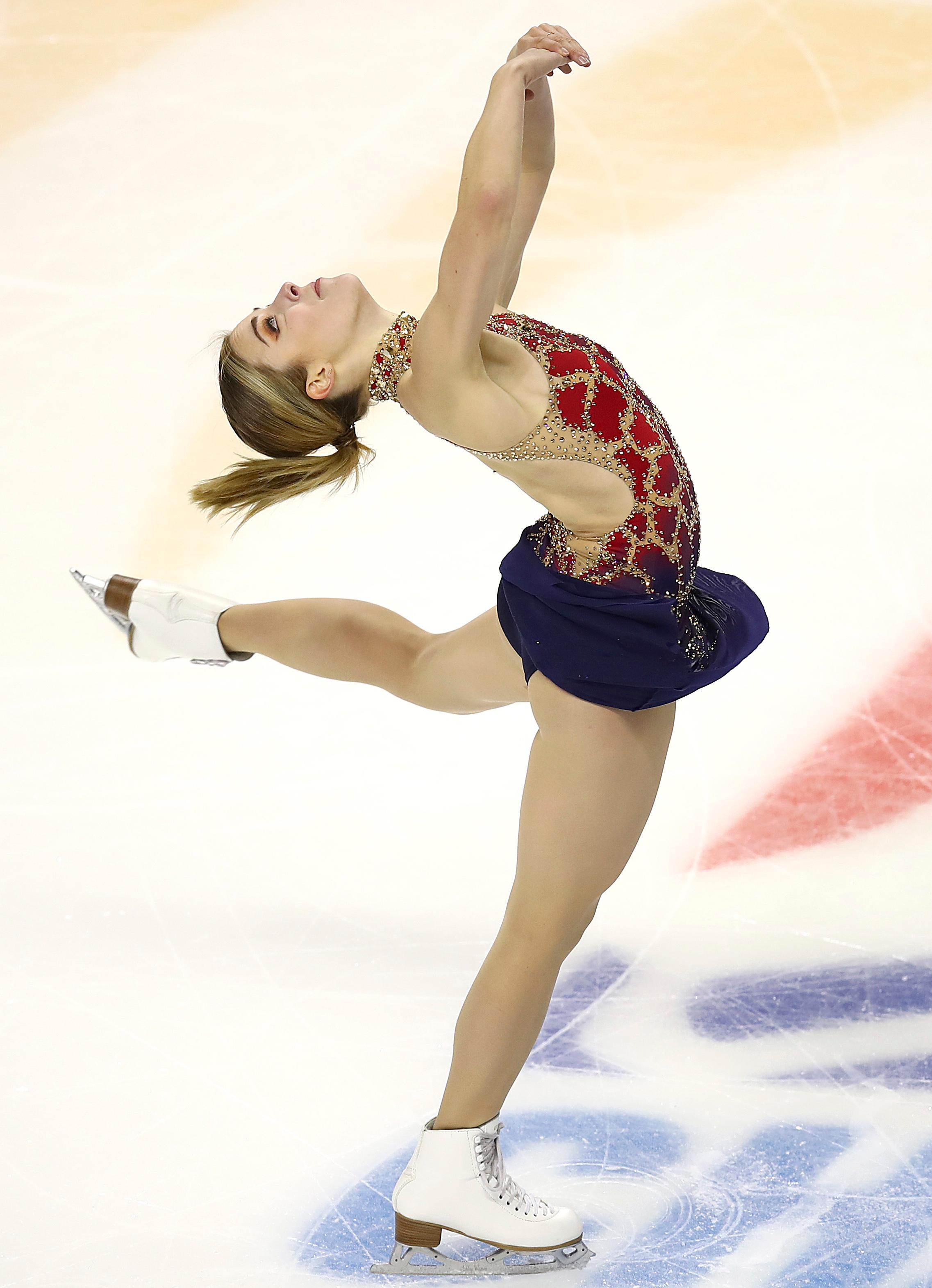 ashley wagner u0026 39 s free skate friday night will determine her olympic fate