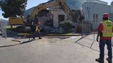 Historic firehouse in Hanford demolished a day ahead of schedule