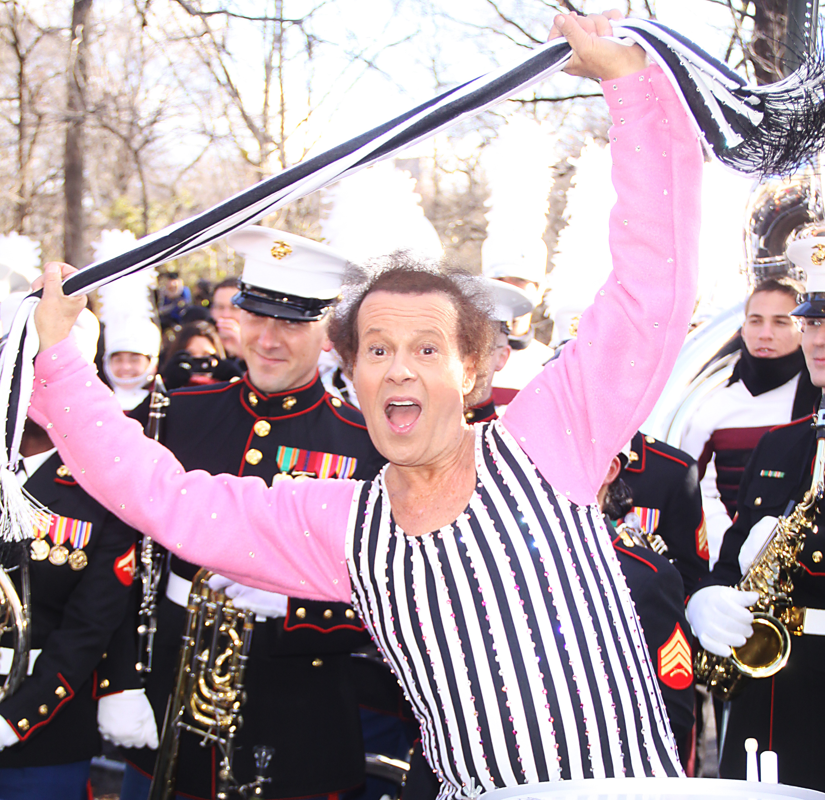 The 2013 Macy's Thanksgiving Day Parade in New York City  Featuring: Richard Simmons Where: New York City, New York, United States When: 28 Nov 2013 Credit: Mr. Blue/WENN.com