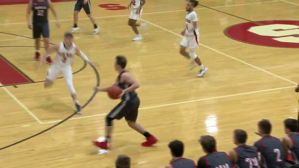 1.21.20 Highlights - St. Clairsville vs Steubenville - boys basketball