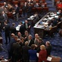 Senate vote to fund the government fails, shutdown begins, White House reacts