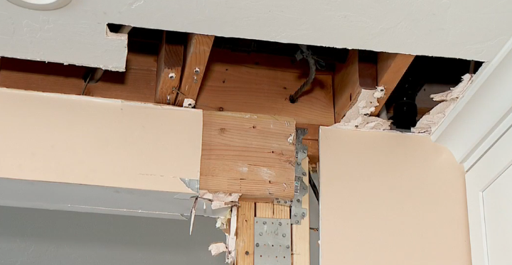 Kitchen remodel leaves home severely damaged, builder fined for lack of permits (Photo: KUTV){ }