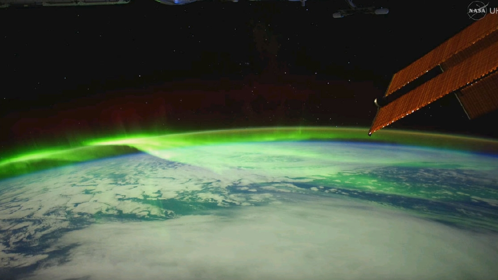 Watch: Stunning video of Northern Lights as seen from Int'l Space Station