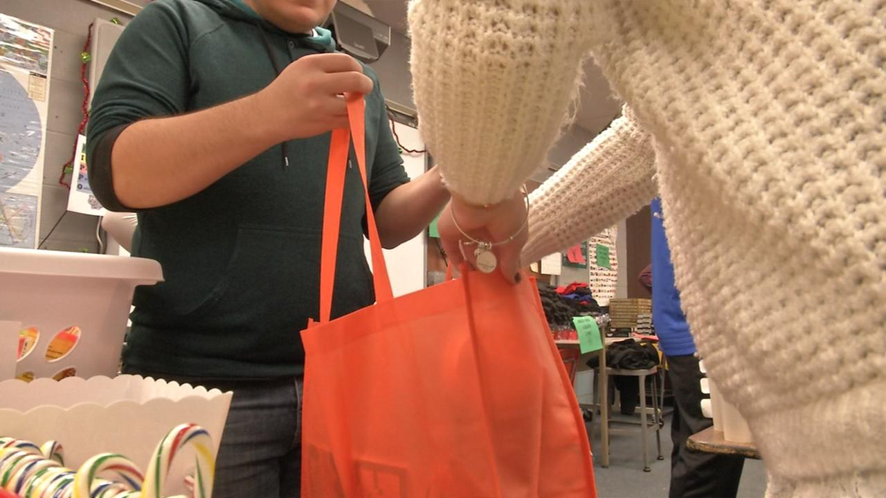 Xenia H.S. students pack 'Baskets for Battle' for those battling cancer over the holidays (WKEF/WRGT)
