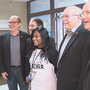 Valentine's Day surprise: Quartet greets Little Rock teacher at school with special song