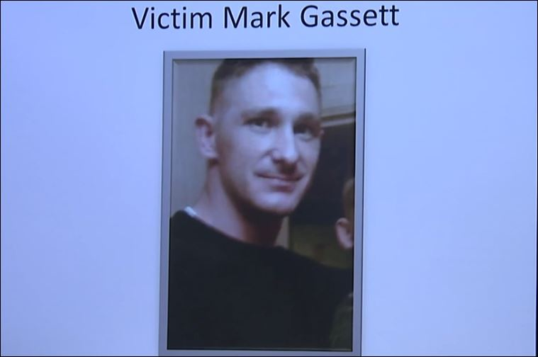 Victim number two was Mark Gassett, who was shot in front of 215 N. Fulton Ave. on Tuesday.(Photo Fresno Police)
