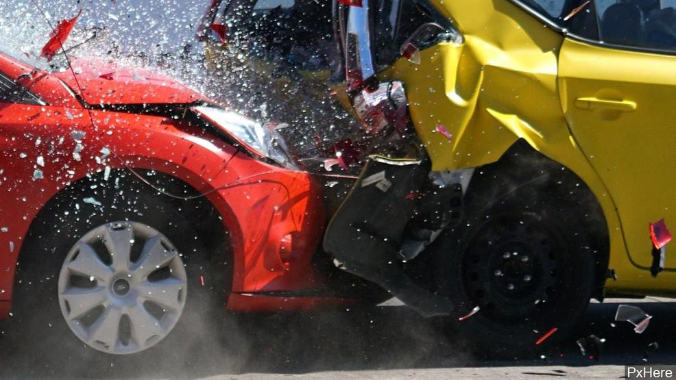 two cars flip over in a three vehicle crash in okaloosa county one