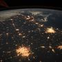 Astronaut tweets photo of Texas from space