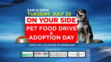 CBS 13/Fox 23 host On Your Side Pet Food Drive & Adoption Day